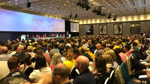 Delegates at the INTO annual congress in Galway