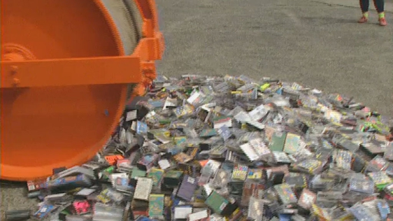 Counterfeit Cassettes Crackdown