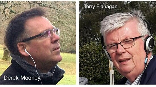 Derek Mooney and Terry Flanagan