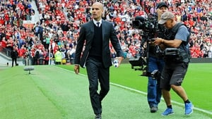 Pep Guardiola has won both his Premier League games in charge at Old Trafford