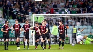 Bohemians deservedly took all the points at Tallaght Stadium