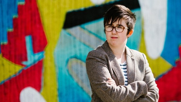 Lyra McKee was shot dead during rioting in Derry in April 2019