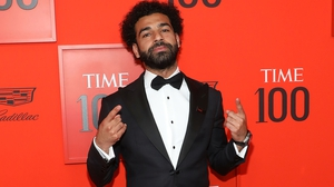 Mohamed Salah attends the Time 100 Gala at Frederick P Rose Hall, Jazz at Lincoln Center in New York