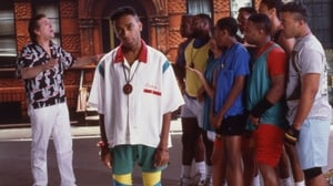 Spike Lee and some of the cast of Do the Right Thing. Photo: Anthony Barboza/Getty Images