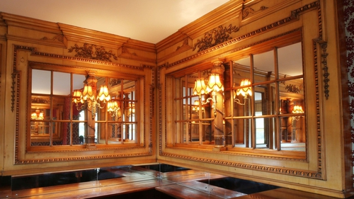 Panelling from the Britannic's first-class lounge and the second-class library dating from 1914 are up for auction