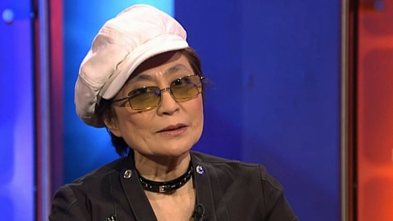 Yoko Ono on the Late Late Show (2004)
