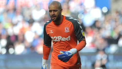 Darren Randolph has hardly put a foot wrong for Ireland throughout the Euro 2020 qualifying campaign