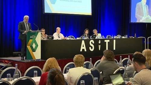 The ASTI conference is taking place in Wexford
