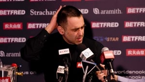 Ronnie O'Sullivan suffered a shock defeat to amateur James Cahill