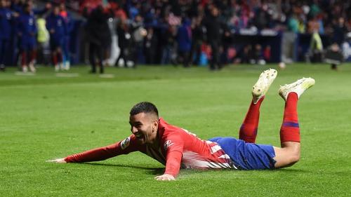 Angel Correa scored the winner for Atletico Madrid