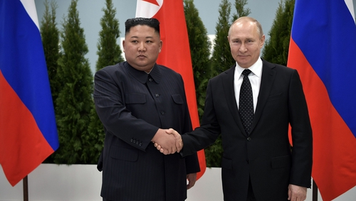 Meeting was Kim Jong-un's first face-to-face talks with another head of state since returning from his summit with Donald Trump