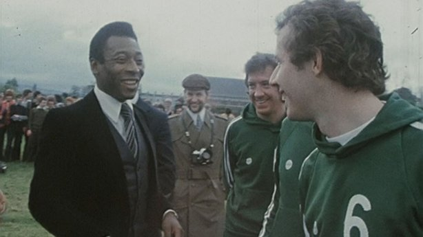 Pelé and Liam Brady