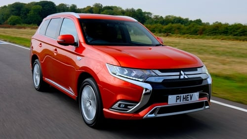 Europe's top-selling plug-in hybrid SUV, the Mitsubishi Outlander