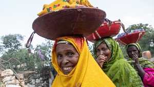 Ethiopian women are still excepted to drop out of school, cook, clean and look after children