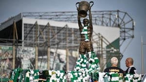 Celtic fans pay tribute to the late Billy McNeill