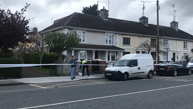 Scene of           Thursday's shooting at Hardman's Gardens in Drogheda
