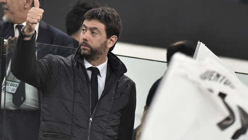 The Juventus supremo wants to fix a system that he claims is insolvent