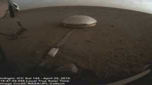 The footage of the passing clouds on Mars was captured by NASA's robotic probe InSight (Pic: NASA/JPL-Caltech/Leo Enright)