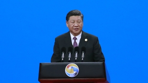 Xi Jinping said in a keynote speech that environmental protection must underpin the scheme