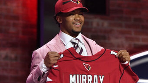 buy online 9a01f 6696c NFL Draft: Kyler Murray snapped up by Cardinals