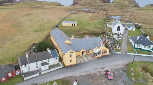 Only hotel on remote island Toraigh up for sale