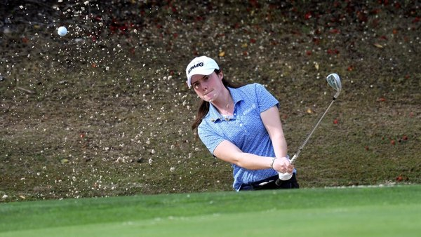Leona Maguire finished fifth at the Dubai Moonlight Classic