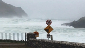 Gusts of over 120km/h were recorded during the height of the storm