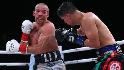 TJ Doheny enjoyed some success but the two knockdowns would convince the judges to hand Roman the win