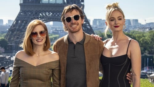 Jessica Chastain, Michael Fassbender and Sophie Turner