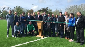 The all-weather pitch is named after the club's best known champion, the late Georgie O'Callaghan