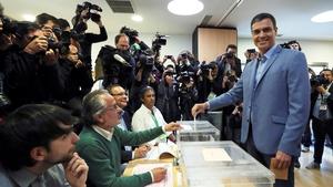 Acting Spanish Prime Minister Pedro Sanchez