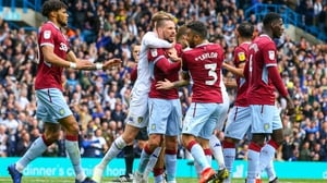 It was a controversial 1-1 draw between Aston Villa and Leeds United at Elland Road