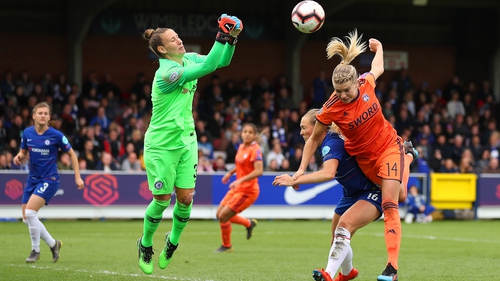 Ballon d'Or winner Ada Hegerberg proved influential as Lyon knocked Chelsea out