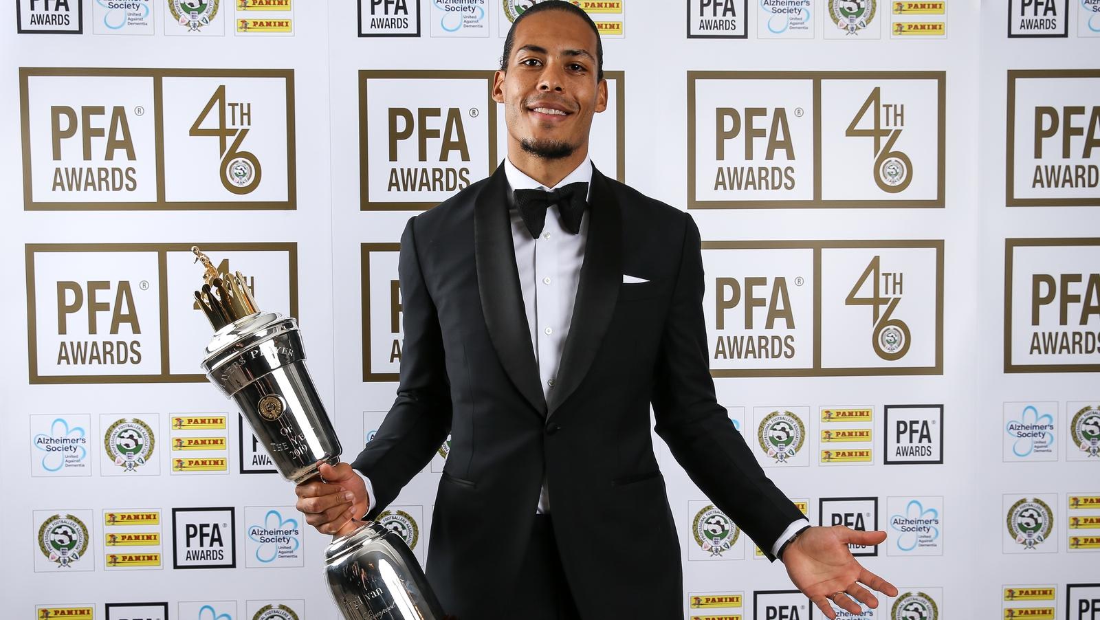 Van Dijk And Sterling Scoop Top Pfa Awards