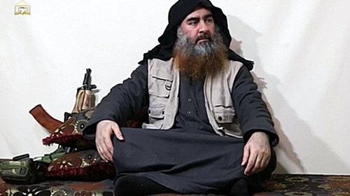 Turkey claims to have captured Abu Bakr al-Baghdadi's sister in northern Syria
