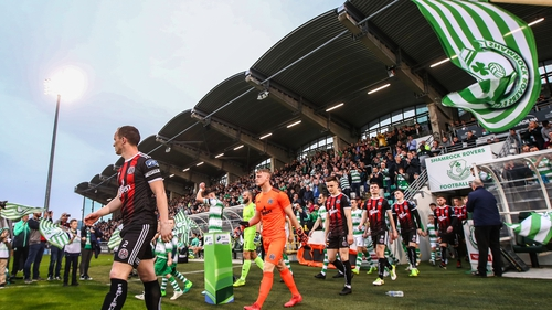 The recent Shamrock Rovers-Bohemians game at Tallaght Stadium attracted an attendance of nearly 6,500