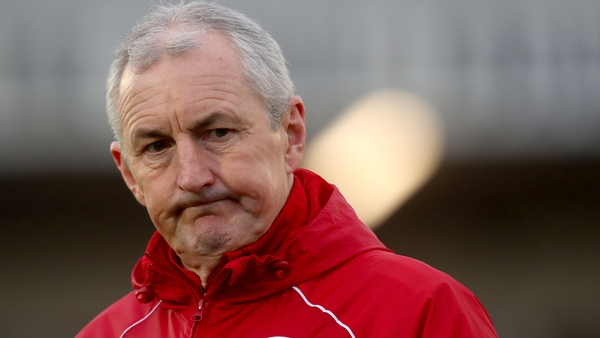 John Caulfield succeeded Tommy Dunne as Cork City manager in 2013