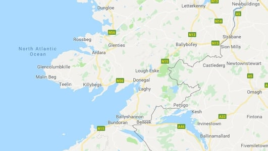 Minor earthquake recorded in Co Donegal