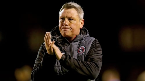 Keith Long was pleased with the 2-0 win away to Derry City