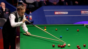 Carter raced into a three-frame lead