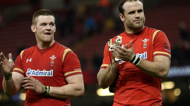 Dan Lydiate and Jamie Roberts are not included