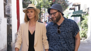 Charlize Theron and Seth Rogen steal the show this weekend in Long Shot