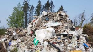The waste was found at a forest in Drumgill last Tuesday