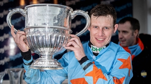 Paul Townend rode Un DE Sceaux to victory in the Champion Chase