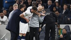Jan Vertonghen was helped off the pitch during the 1-0 defeat to Ajax