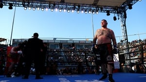 Andy Ruiz Jr in the ring two weeks ago