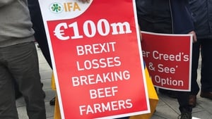 Beef farmers say Brexit has resulted in massive losses
