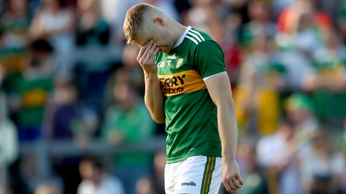 Peter Crowley featured in all of Kerry's league games in the full-back line