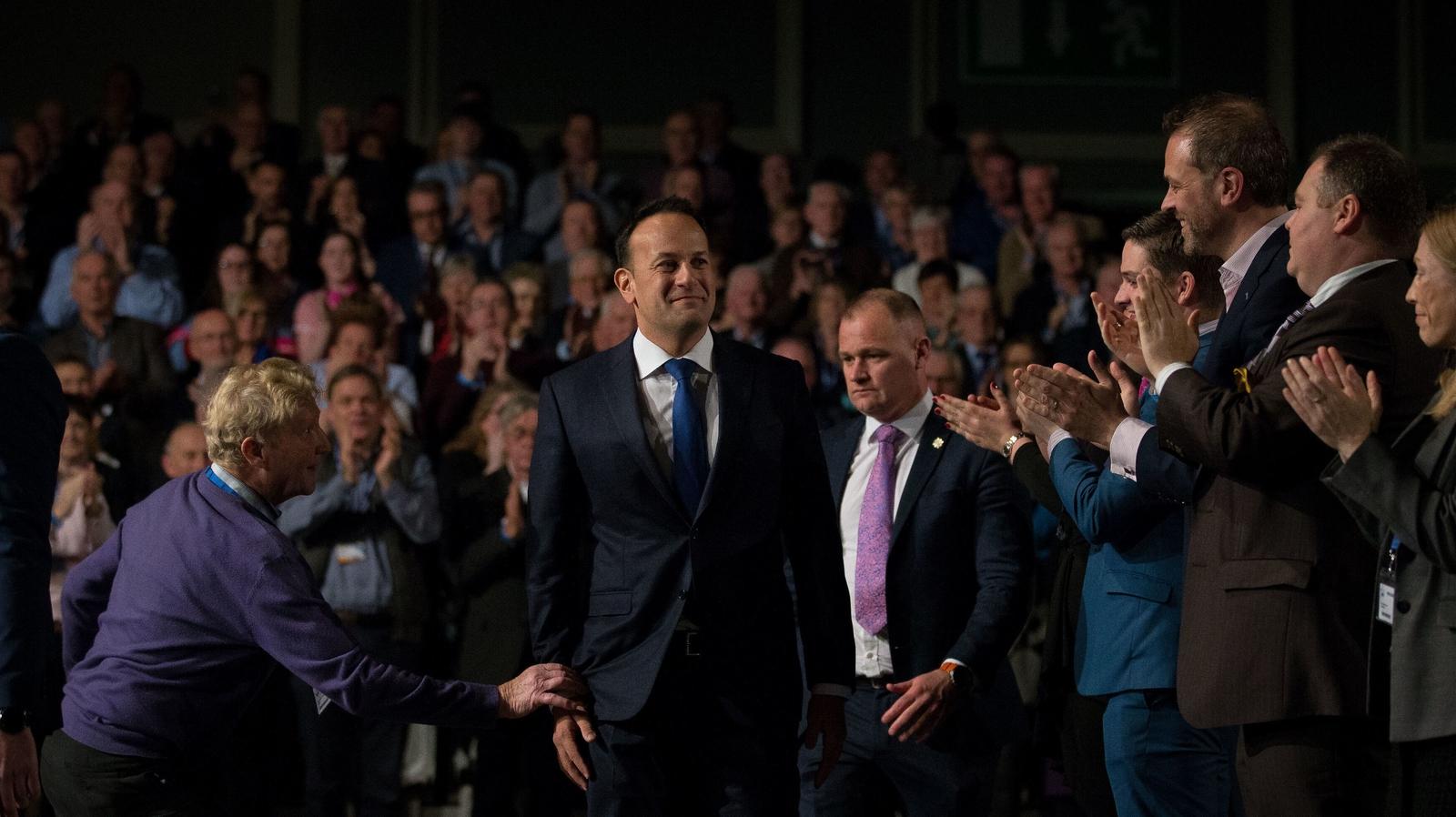 Image - The Fine Gael Ard Fheis in November 2018