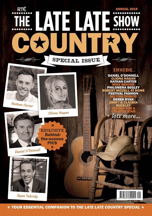 RTE Guide - The Late Late Show Country Special Issue